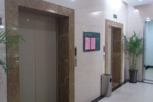 苏河汇电梯厅