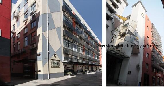 上海国际设计交流中心环境照