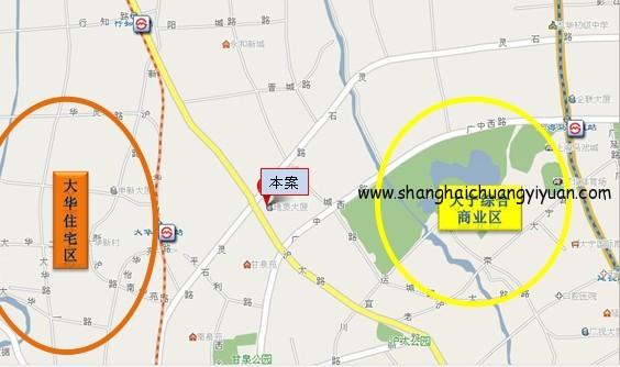 H951产业园交通地图